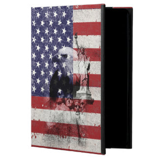 Flag and Symbols of United States ID155 Powis iPad Air 2 Case