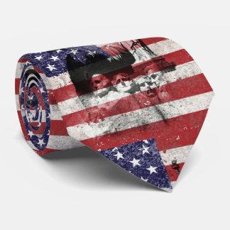 Flag and Symbols of United States ID155 Tie