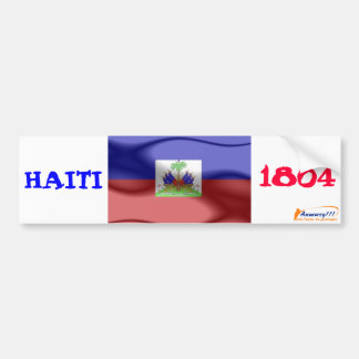 flag, anmwey, HAITI, 1804 Bumper Sticker