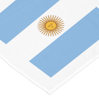Flag: Argentina Short Table Runner