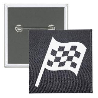 Flag Assigns Minimal 15 Cm Square Badge