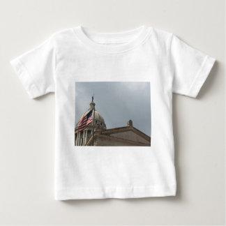 Flag at State Capital Oklahoma City Baby T-Shirt