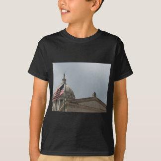 Flag at State Capital Oklahoma City T-Shirt