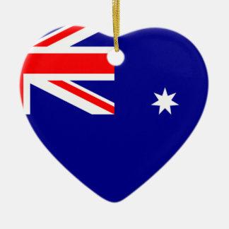 Flag Australia. Australian symbol Christmas Ornament