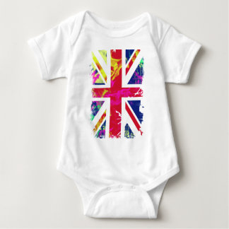 flag baby bodysuit