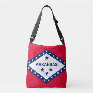 Flag Bag, Arkansas Crossbody Bag