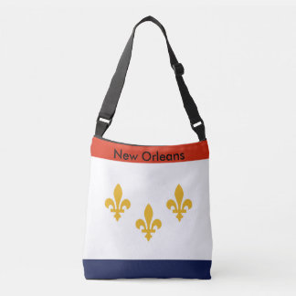 Flag Bag, New Orleans Crossbody Bag