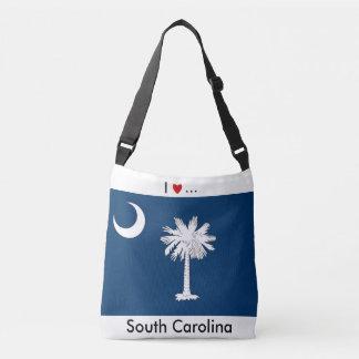 Flag Bag, South Carolina Crossbody Bag