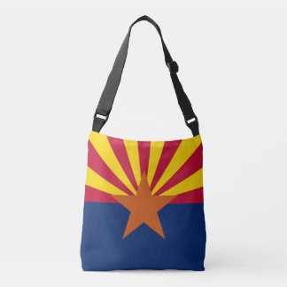 Flag Bag, State of Arizona Crossbody Bag