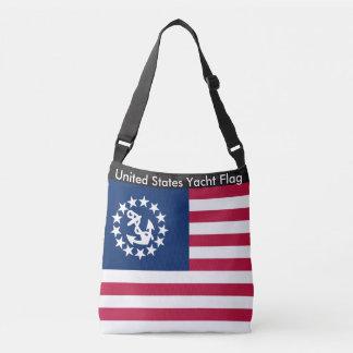 Flag Bag, United States Yacht Flag Crossbody Bag