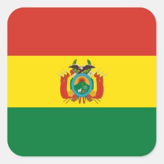 Flag: Bolivia Square Sticker