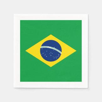 Flag: Brasil Paper Napkin