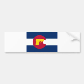 Flag Bumper Sticker