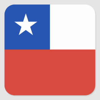 Flag: Chile Square Sticker