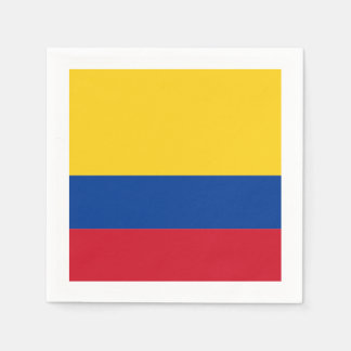 Flag: Colombia Paper Napkin