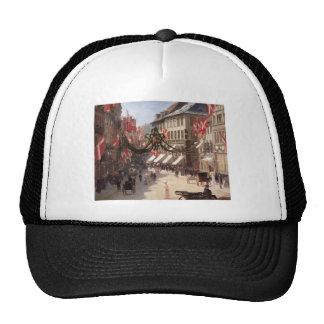 Flag Day in Copenhagen Denmark Mesh Hat