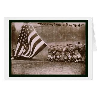Flag Ebbets Park Baseball 1914 Card