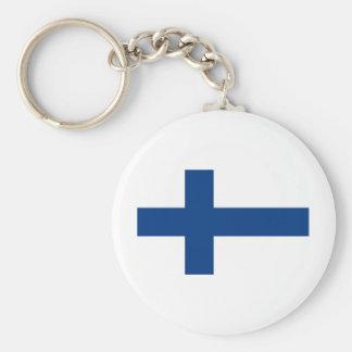 Flag Finland Key Ring