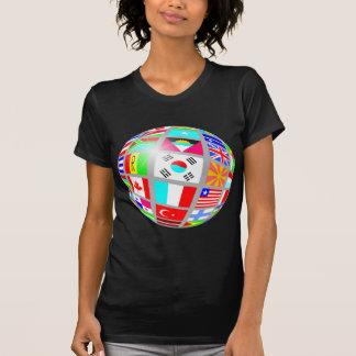 flag globe tee shirts