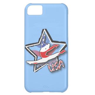 Flag Gymnast iPhone 5C Case