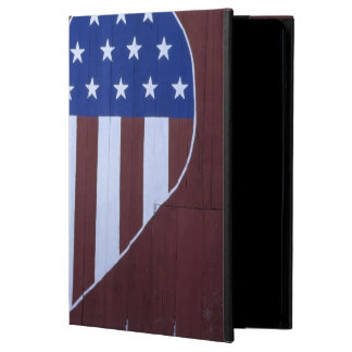 Flag in heart shape painted on barn after 9-11. case for iPad air
