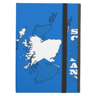 Flag in Map of Scotland Case For iPad Air