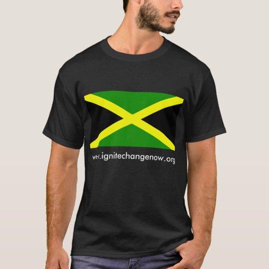 Flag Jamaica, www.ignitechangenow.org T-Shirt