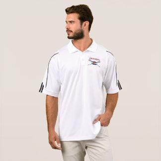 Flag Logo Men's Adidas Golf ClimaLite® Polo Shirt