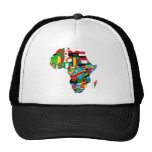 Flag Map of Africa Flags - African Culture Gift Cap