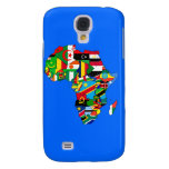 Flag Map of Africa Flags - African Culture Gift Galaxy S4 Case