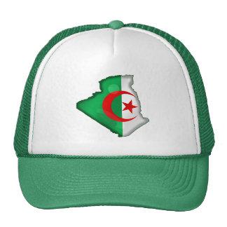 Flag Map of Algeria for Algerians worldwide Trucker Hats