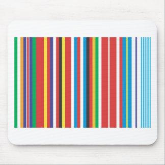 Flag Multi color Mouse Pad
