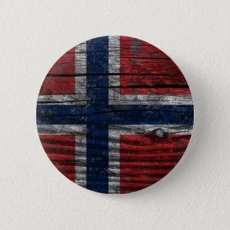 Flag - Norway 6 Cm Round Badge