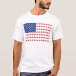 FLAG-O-SLEDS-Sno-Crosseps T-Shirt