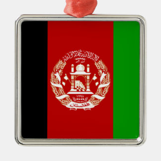 Flag of Afghanistan Christmas Ornament
