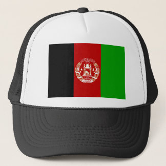 Flag of Afghanistan Trucker Hat