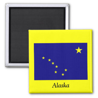 Flag of Alaska Magnet