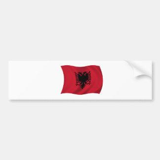 Flag of Albania Bumper Sticker