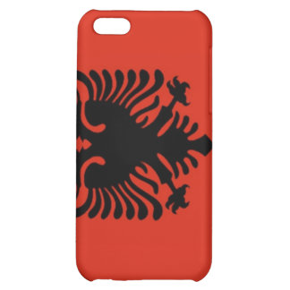 Flag of Albania Cover For iPhone 5C