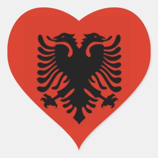 Flag of Albania Sticker
