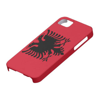 Flag of AlbaniaiPhone 5 Case-Mat-Mate Barely There iPhone 5 Case