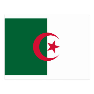 Flag of Algeria Postcard