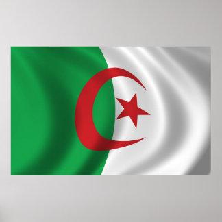 Flag of Algeria Poster