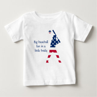 Flag of America Baseball American Baby T-Shirt