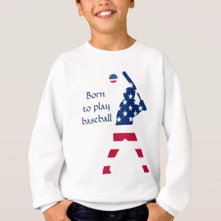 Flag of America Baseball American Sweatshirt