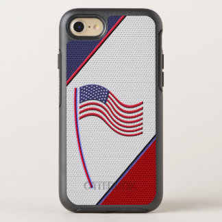 Flag of America OtterBox Symmetry iPhone 8/7 Case