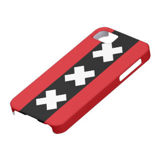 Flag of Amsterdam Barely There iPhone 5 Case