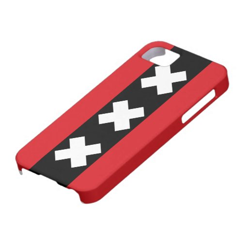 Flag of Amsterdam iPhone 5 Case