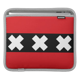 Flag of Amsterdam iPad Sleeve