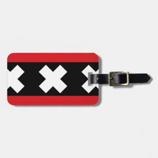 Flag of Amsterdam Luggage Tag